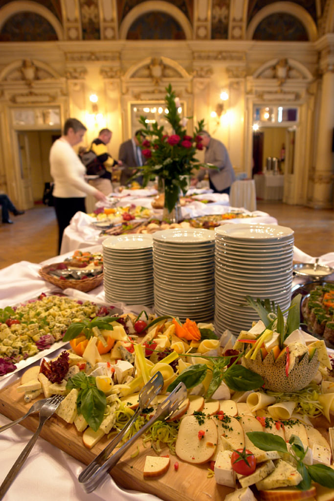 Food tasting is eating the stuff the hotel gives you, then telling them what you didn't like. (Photo: iStock)
