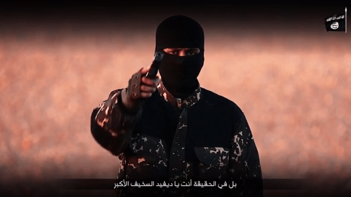 Snapshot from the video released by ISIS. (Photo: Video Screengrab)