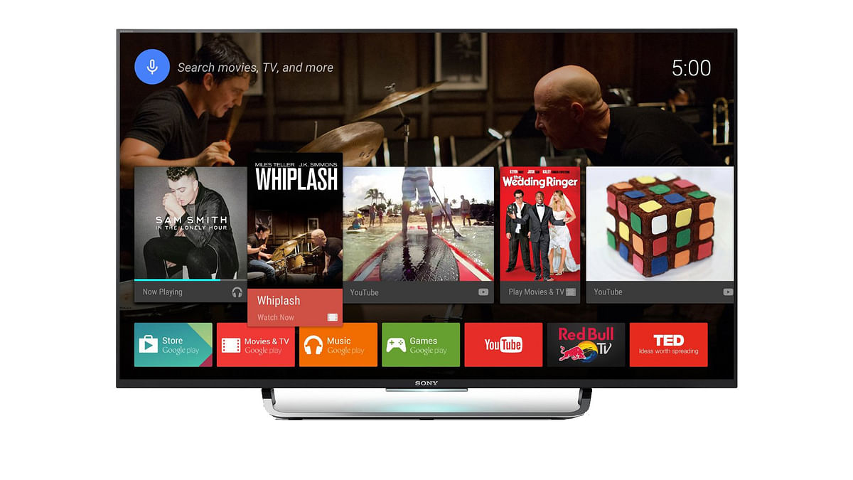 Sony Smart Android TV. (Photo: Sony)