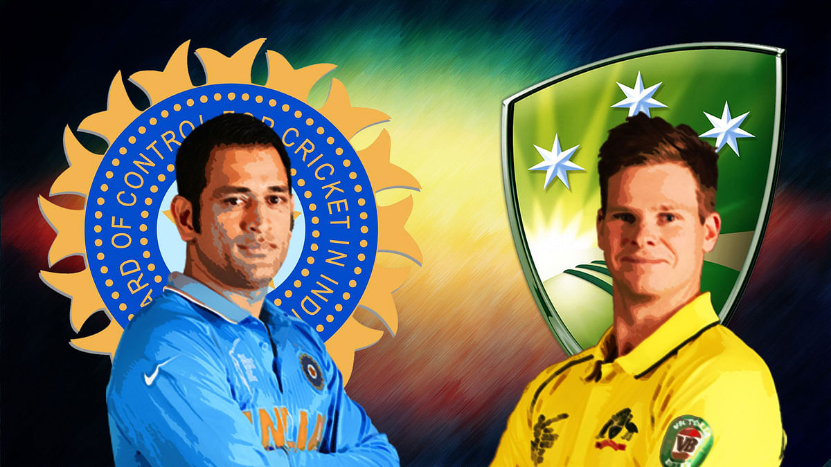 India play Australia in a five-match ODI series starting Tuesday.