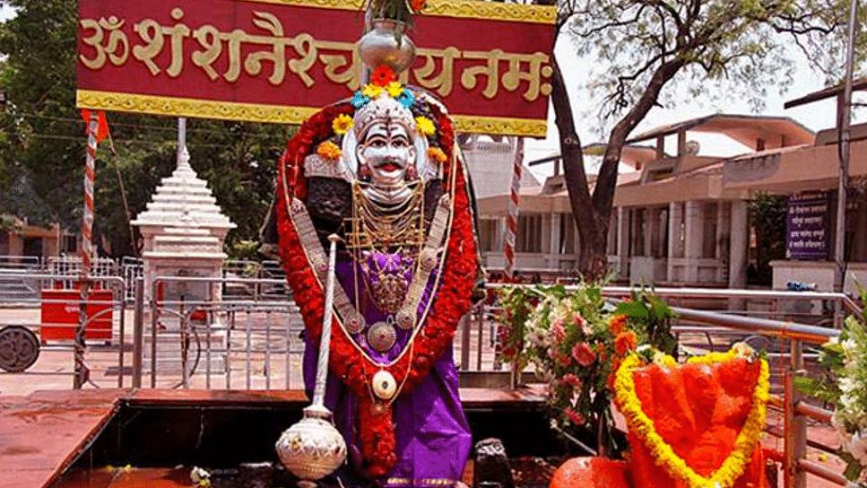 File photo of the Shani Shignapur temple in Ahmednagar. (Photo: PTI)