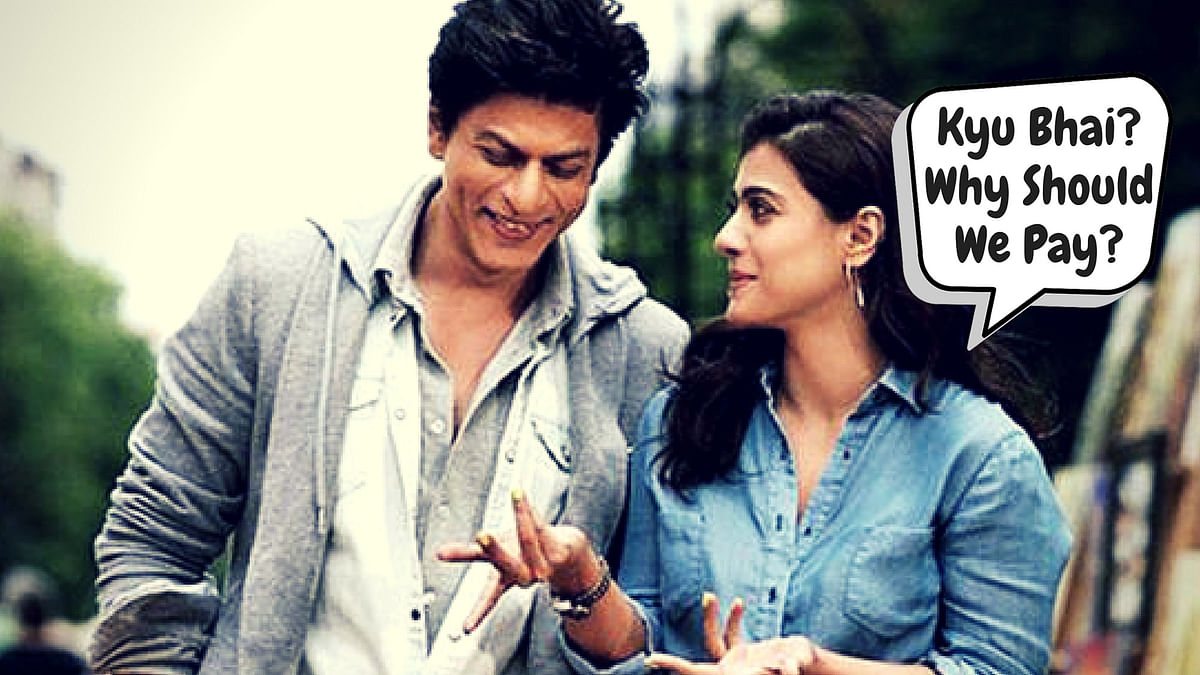 How can the <i>Dilwale</i> jodi, Shah Rukh Khan and Kajol be exempted from odd-even formula?
