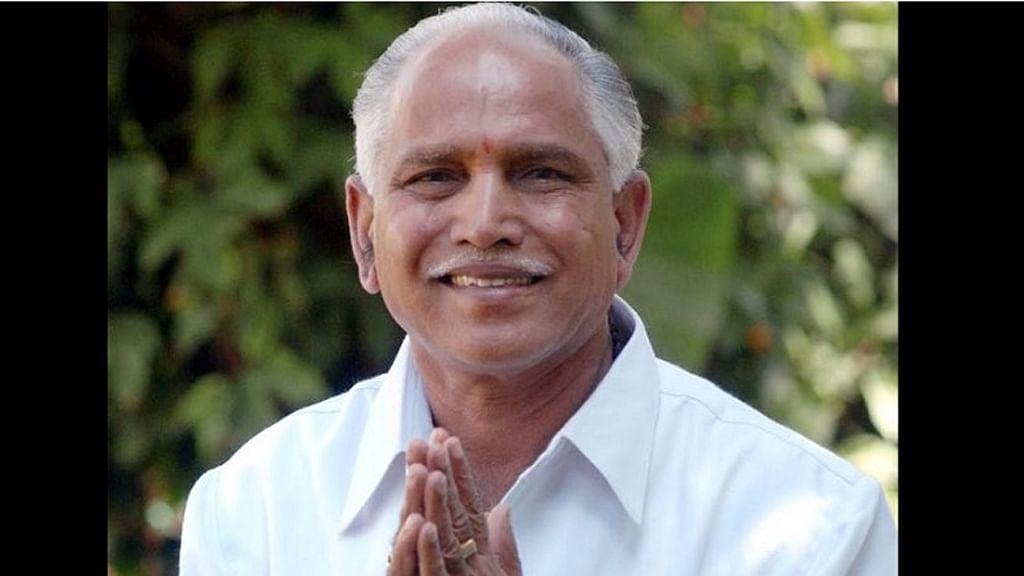 Former Chief Minister of Karnataka BS Yeddyurappa. (Photo Courtesy: The News Minute)