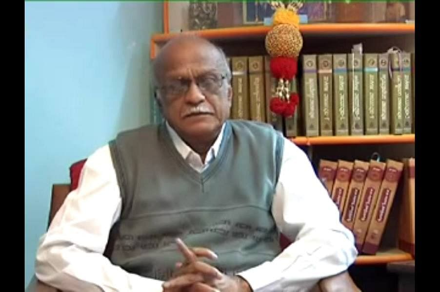 Rationalist MM Kalburgi was killed four months ago. (Photo Courtesy: The News Minute)