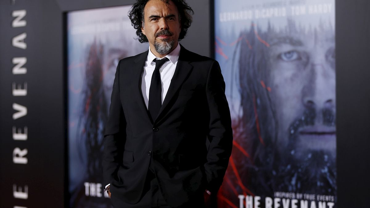 Director Alejandro Gonzalez Inarritu poses at the premiere of <i>The Revenant</i> in Hollywood, California. (Photo: Reuters)