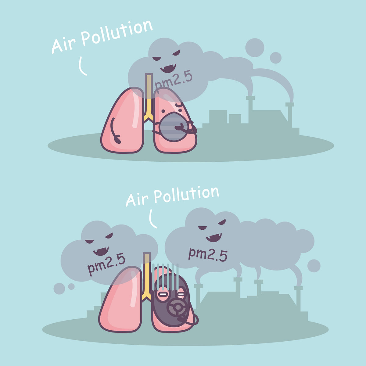Vulnerable populations such as children, the elderly, or those with pre-existing conditions are particularly susceptible to air pollution exposure. (Photo: iStock)