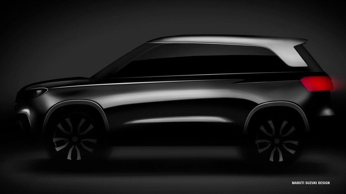 Maruti Suzuki has released the sketch of their upcoming compact SUV. (Photo Courtesy: Maruti Suzuki)