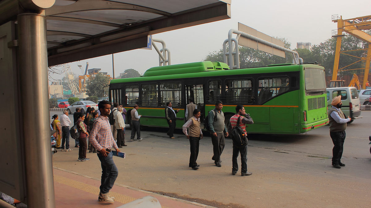 There are currently 7,143 buses plying in Delhi. (Photo: iStockphoto)