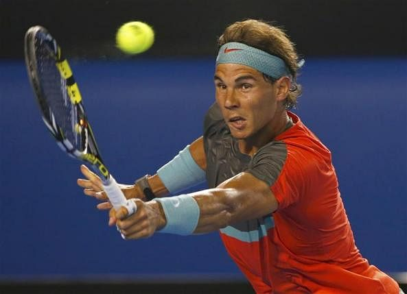 Nadal looked below par against Tomas Berdych. (Photo: Reuters)