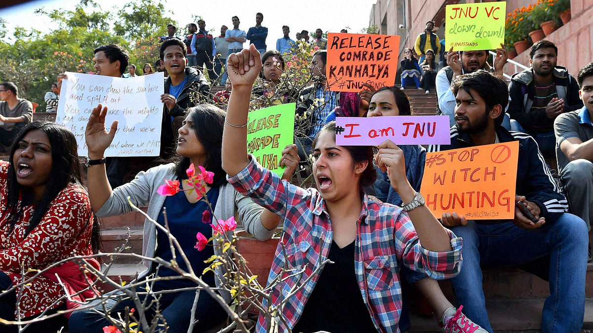 Won't Let DU Become JNU: How Ramjas Echoes of JNU of Feb 2016