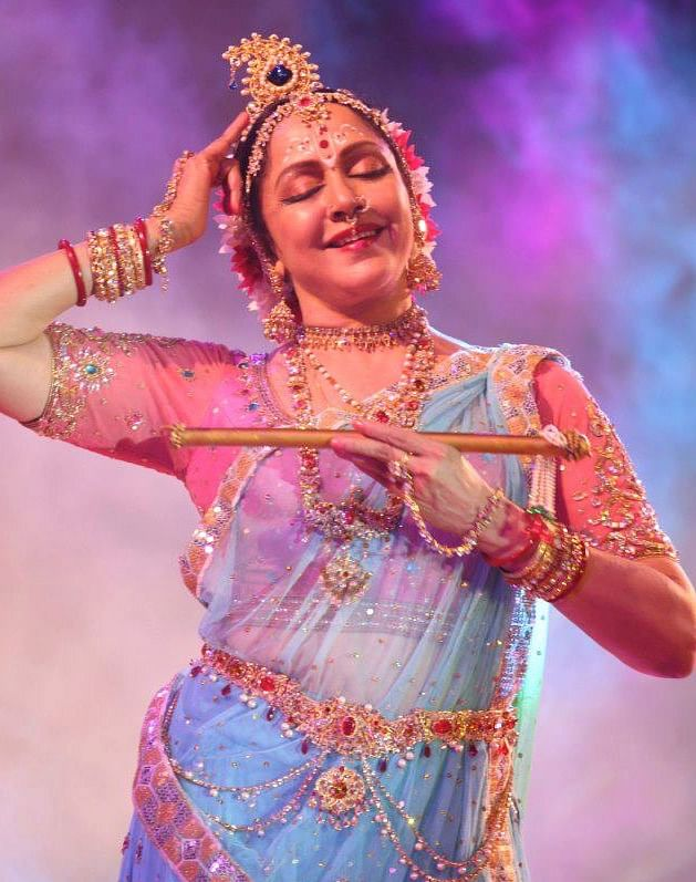 Dance for Hema Malini is devotion (Photo courtesy: Facebook)