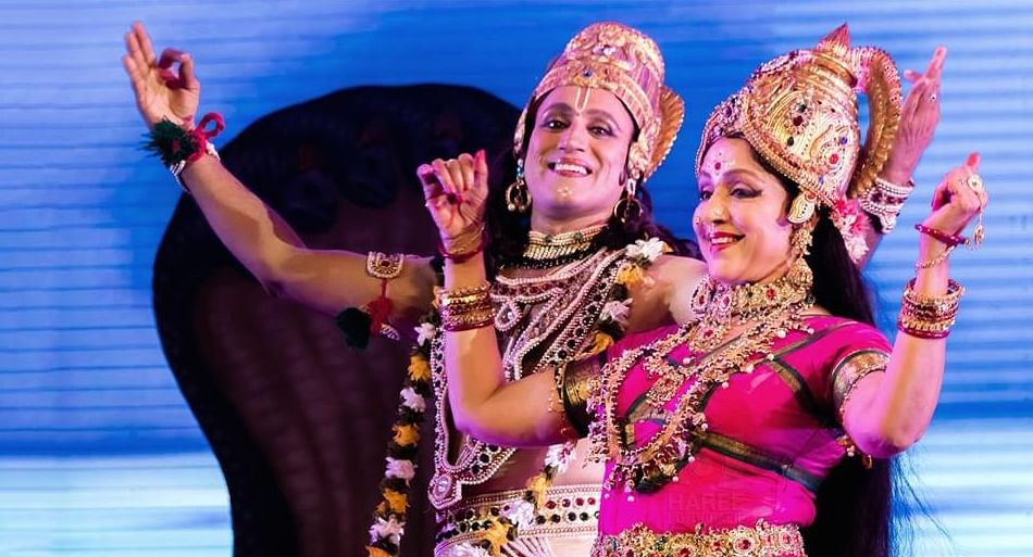 Hema Malini started dancing since the age of five (Photo courtesy: Facebook)