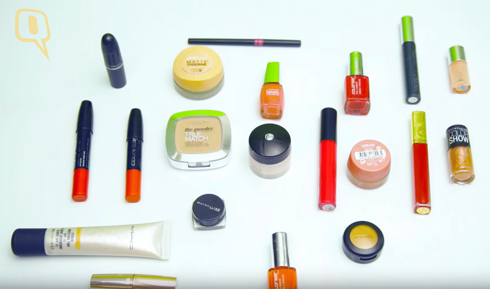 Nearly all cosmetics come with chemicals that can potentially harm you except if you go in for the organic range (Photo: The Quint)
