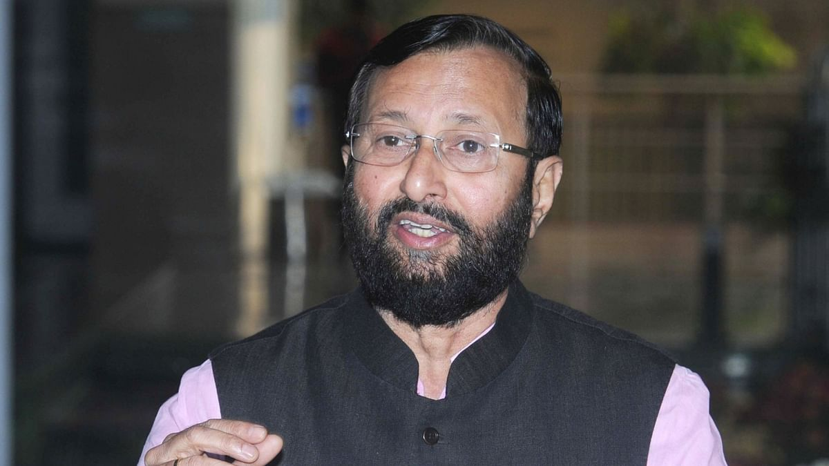Union Minister for Human Resources Development Prakash Javadekar. (Photo: IANS)