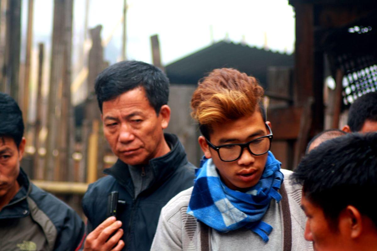 Faces in the village. (Photo Courtesy: Kushal Chowdhury)
