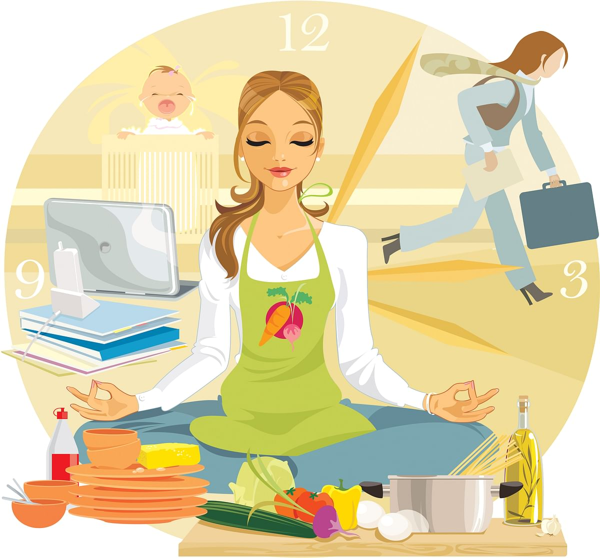 Before I knew it, I was a working woman and a homemaker, simultaneously. (Photo: iStock)