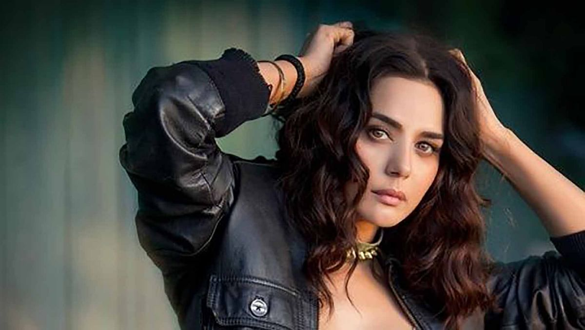 Bollywood actress Preity Zinta