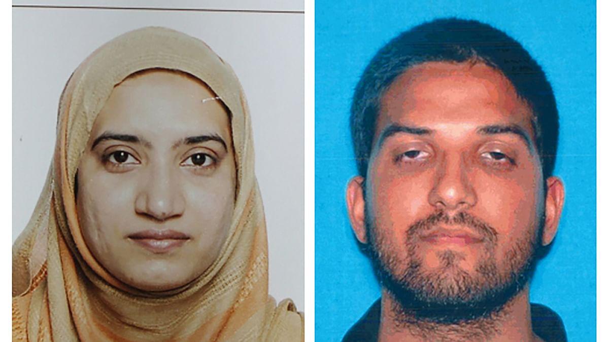 California shooting suspects Tashfeen Malik (left) and Syed Rizwan Farook. (Photo: AP)