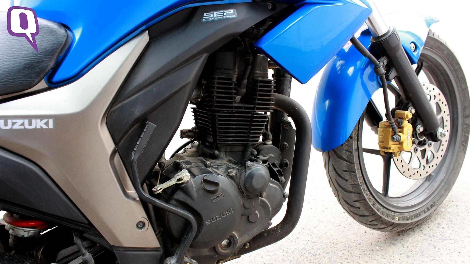 Suzuki Gixxer SF review, test ride - Autocar India