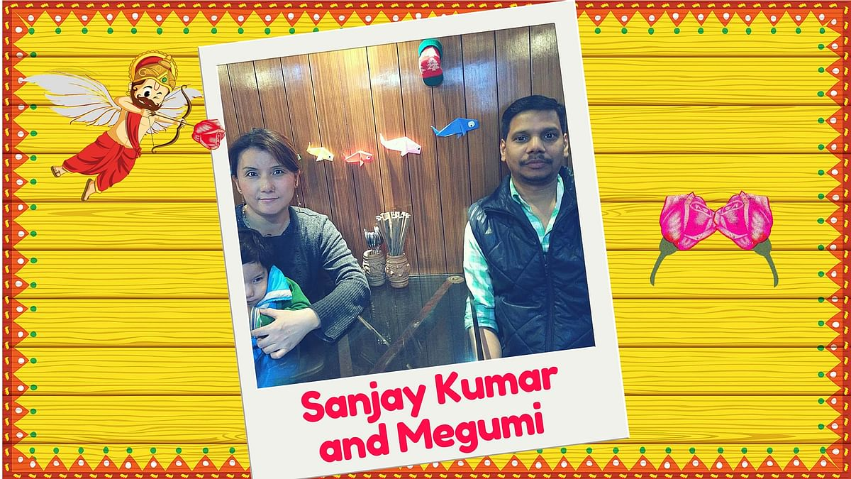Sanjay and Megumi got married in 2003. (Image Altered by <b>The Quint</b>)