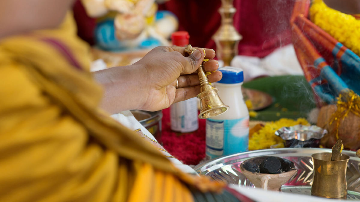 Representational image of a Hindu priest. (Photo: iStock)
