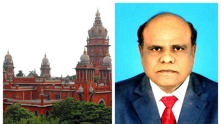 Madras High Court Judge,  CS Karnan. (Photo Courtesy: The News Minute)
