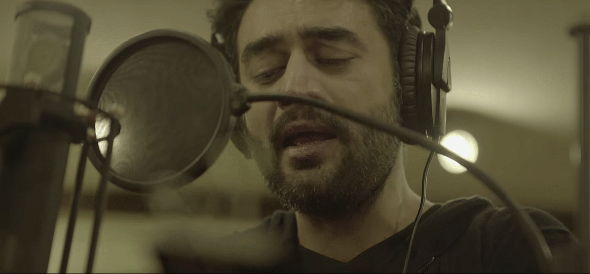 Shekhar Ravjiani records the track <i>Gehra Ishq </i>for<i> Neerja</i>
