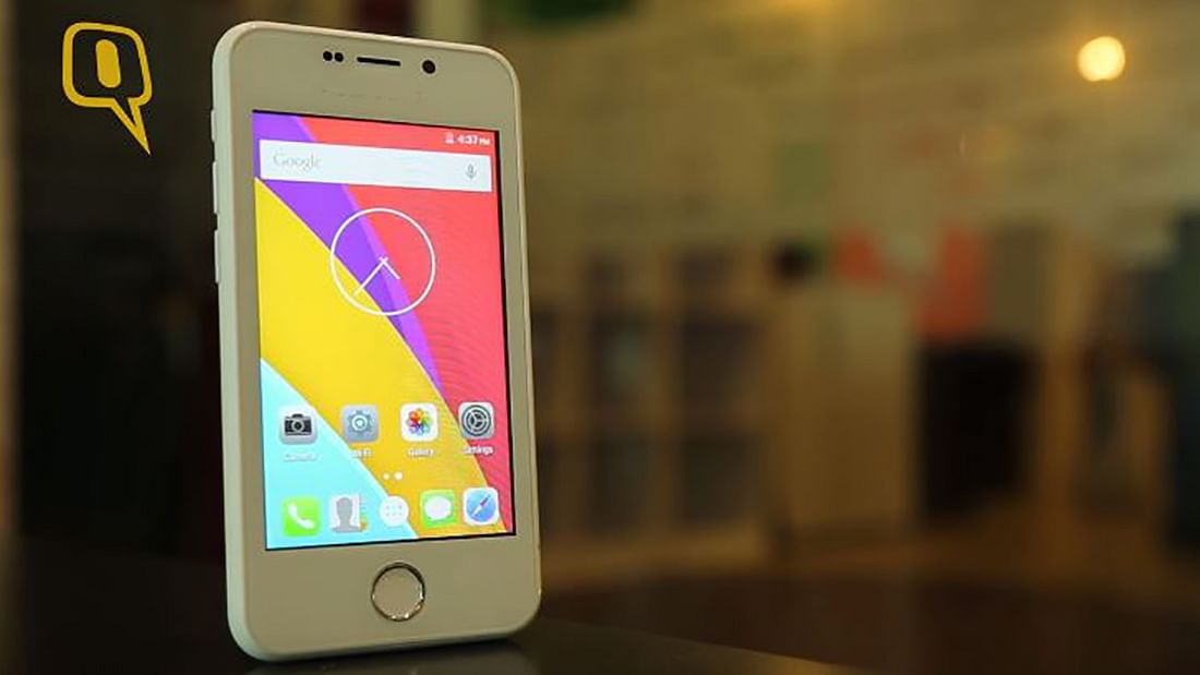 Freedom 251 Smartphone from Ringing Bells. (Photo: <b>The Quint</b>)