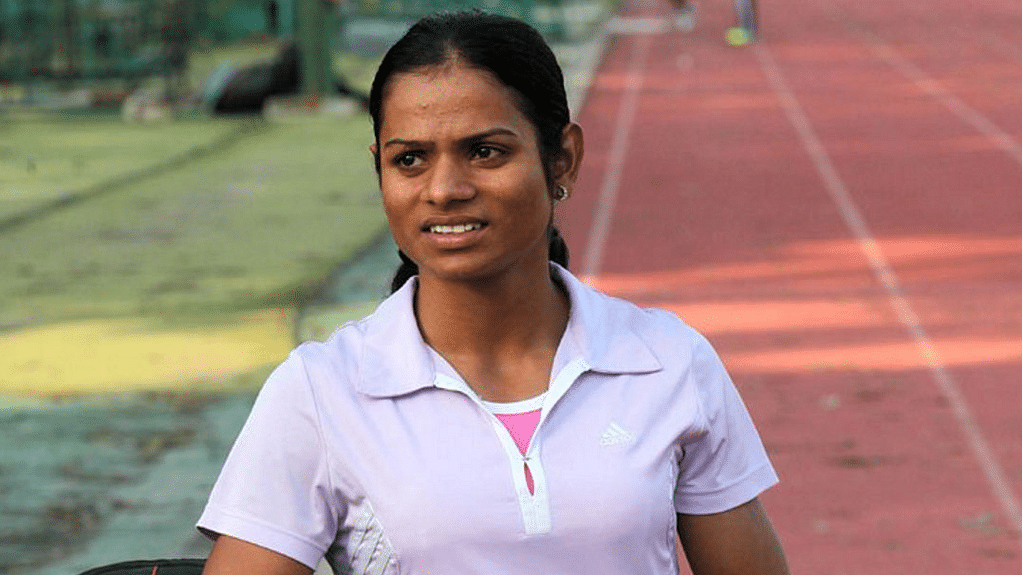 "File photo of Dutee Chand. (Photo: <a href=""https://twitter.com/IndSportUpdates"">IND Sport Updates Twitter</a>)"