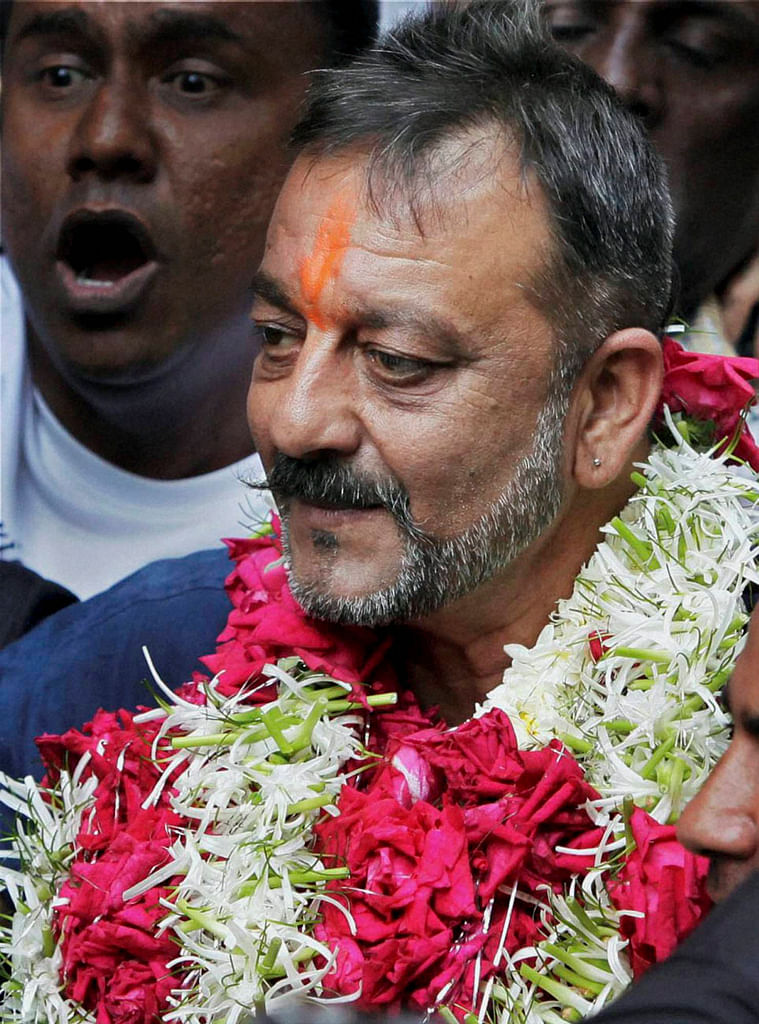 Sanjay Dutt's salary may be of no consequence to him, but it brings to light the discussion around prisoners' wages. (Photo: PTI)