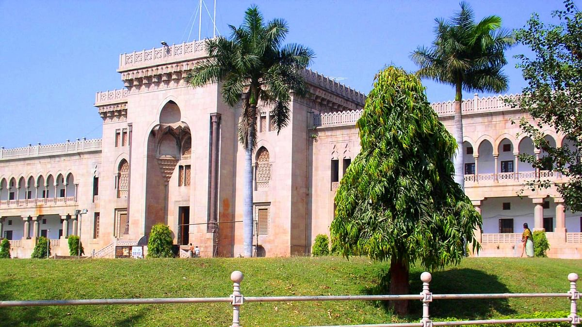 "ABVP and AISF were  taken into preventive custody at the Osmania University in Hyderabad on Saturday. (Photo Courtsey: <a href=""https://upload.wikimedia.org/wikipedia/commons/c/c3/OsmaniaUnivArtsCollege.JPG"">Wikipedia</a>)"
