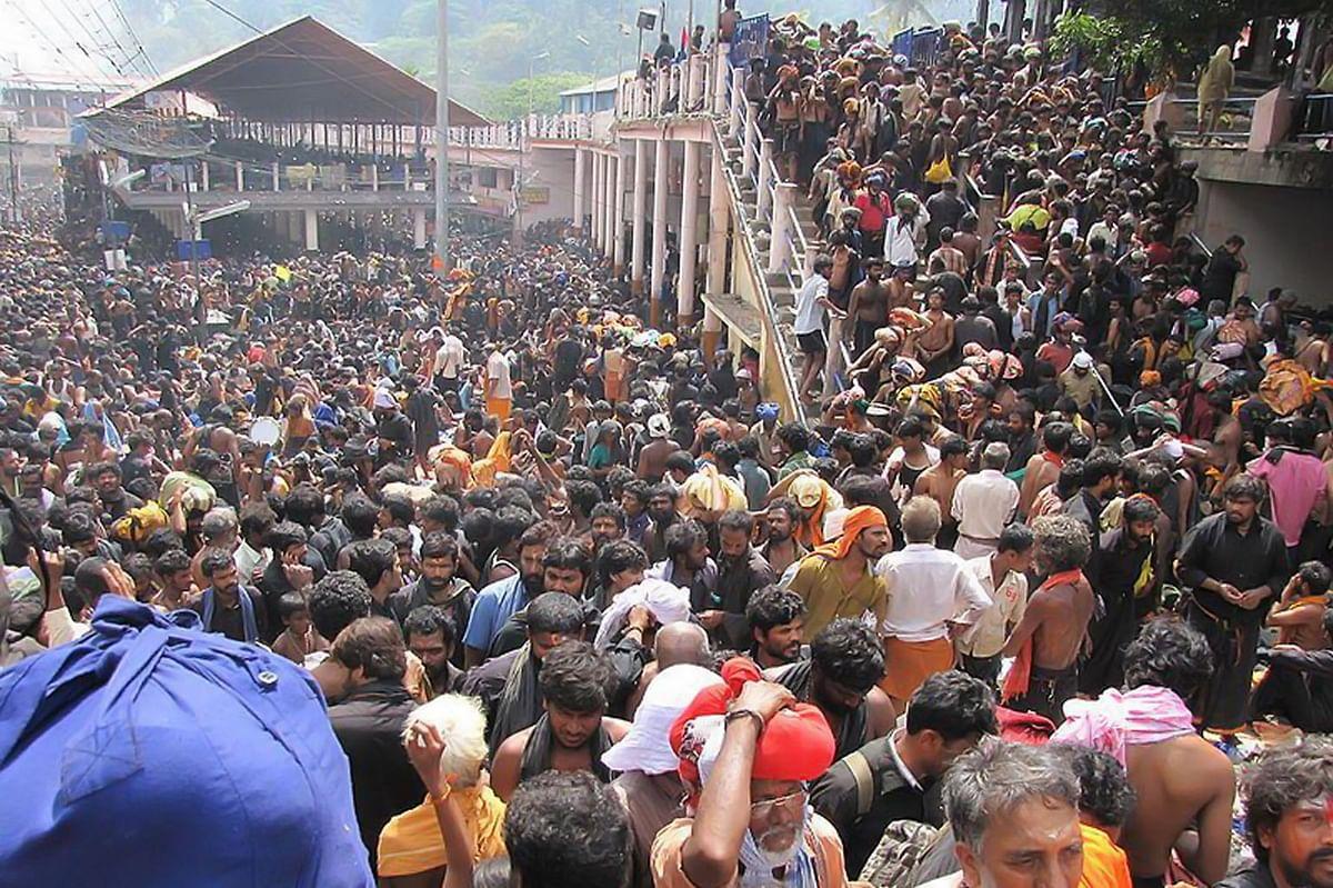 Sabarimala temple in Kerala. (Photo Courtesy: The News Minute)