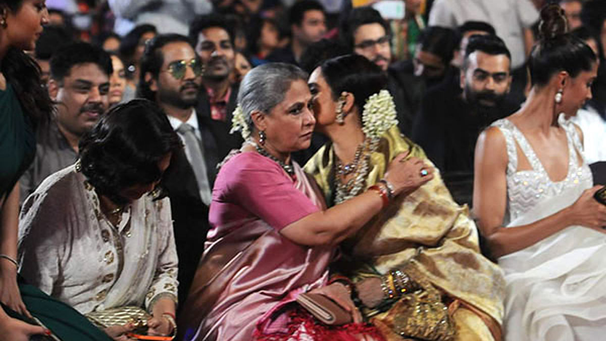 Cameras will always pan in on the Bachchans and Rekha at every award show.