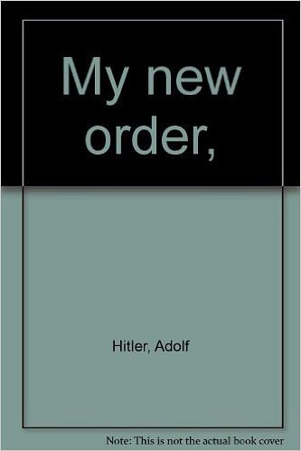 """My New Order, a collection of Hitler's speeches. (Photo Courtesy: <a href=""""http://www.amazon.com/My-new-order-Adolf-Hitler/dp/0374939187"""">Amazon</a>)"""