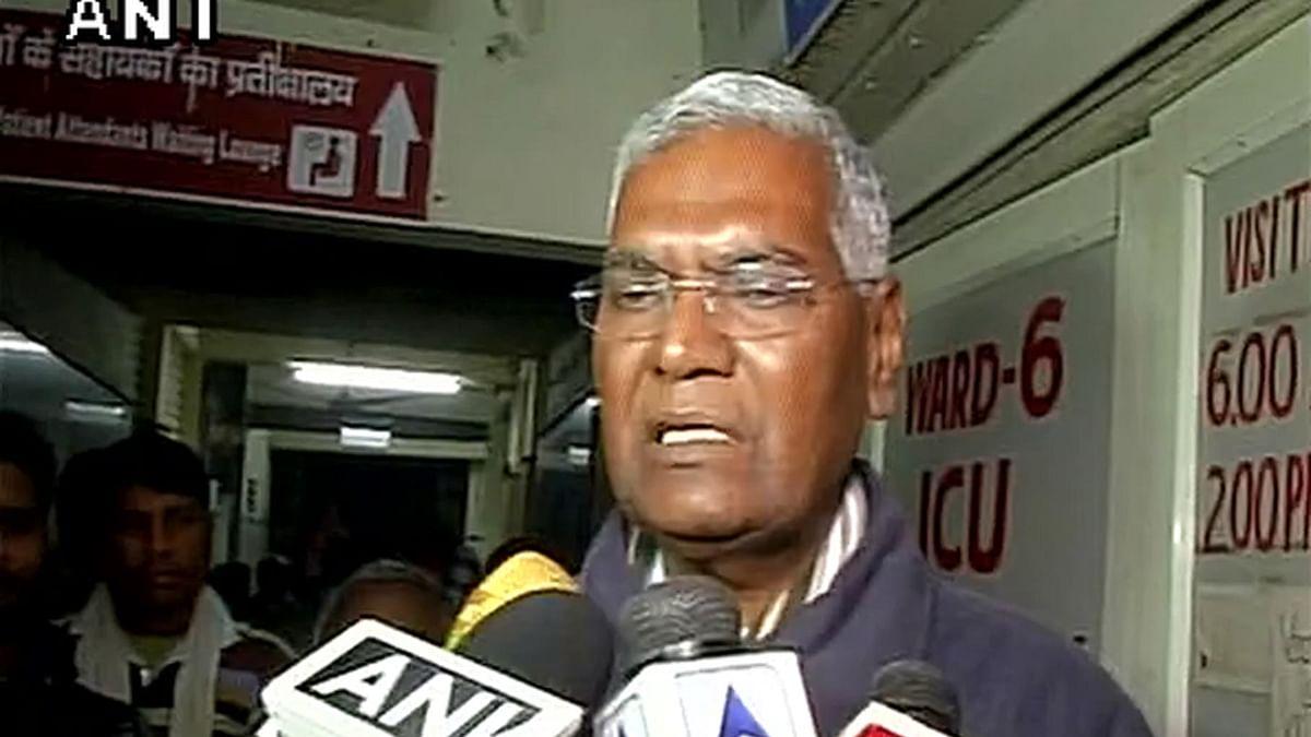 CPI MP D Raja. (Photo: ANI Screen Grab)