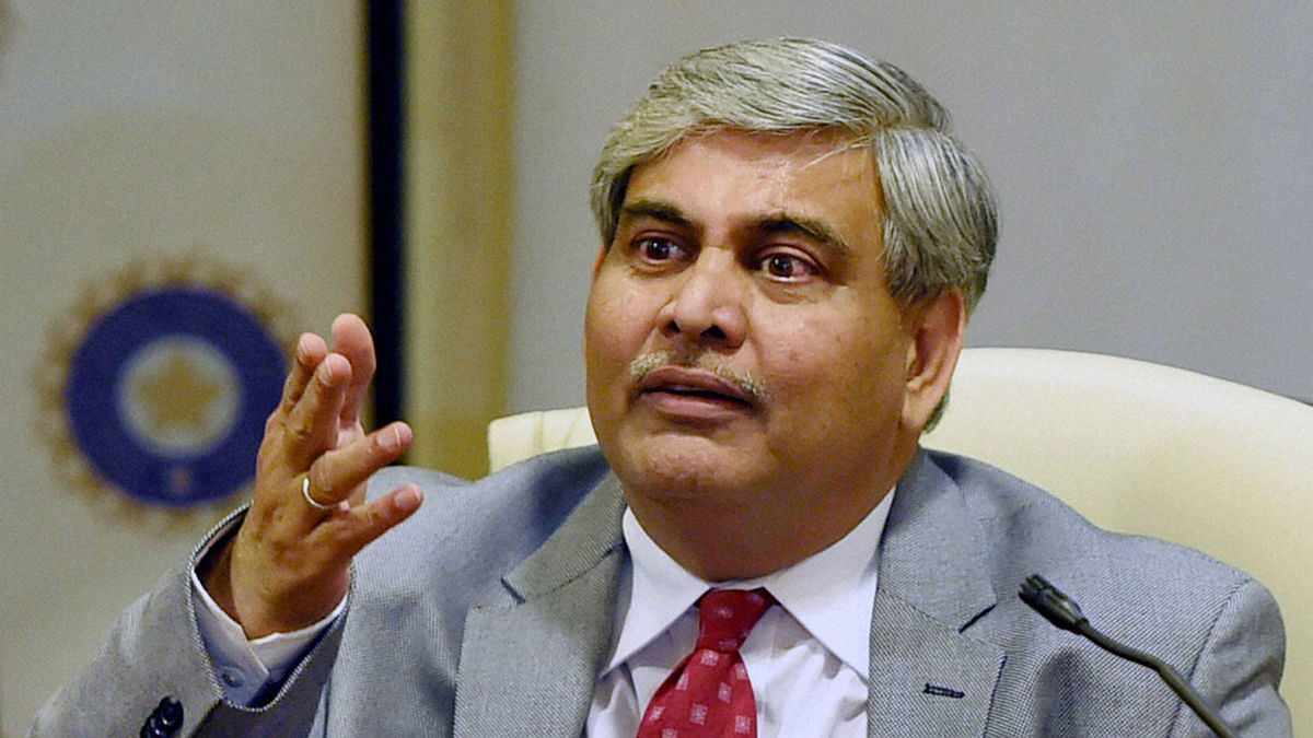 File photo of Shashank Manohar, the ICC President.