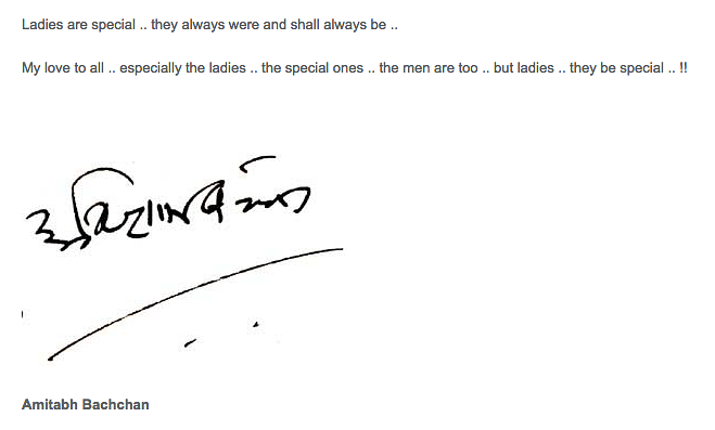 "That's how Big B chose to end his post (Photo: Screen grab from&nbsp;<a href=""http://srbachchan.tumblr.com/"">Amitabh's Blog</a>)"