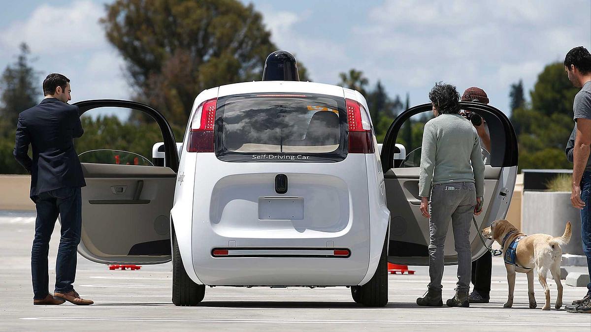 Google self-driving car. (Photo: AP)