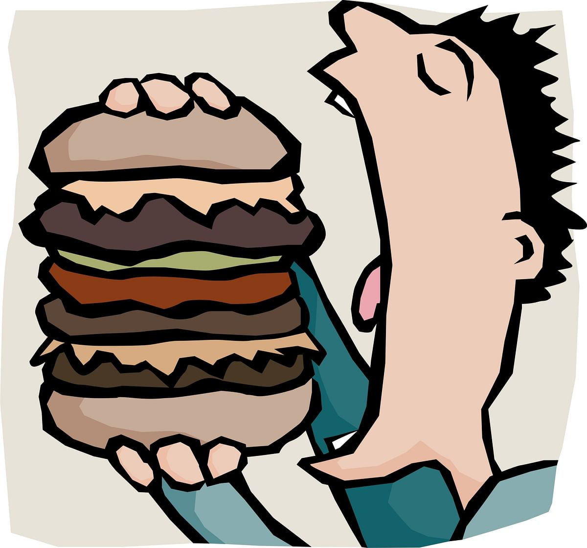 """<b> </b>On one of our expeditions, when Sanjiv asked Anna if he would eat a Wimpy's veggie burger, Anna said """"Yes"""" without a moment's hesitation. (Photo: iStock)"""