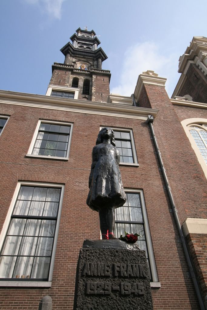 """He revisits the story of Holocaust victim Anne Frank in an unobtrusive Amsterdam house, which is a museum """"where nobody speaks."""" (Photo: iStock)"""