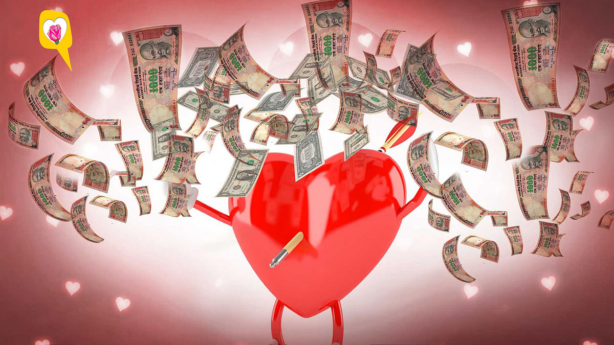 Valentine's Day is not just about love, its about the money too. (Photo: <b>The Quint</b>)