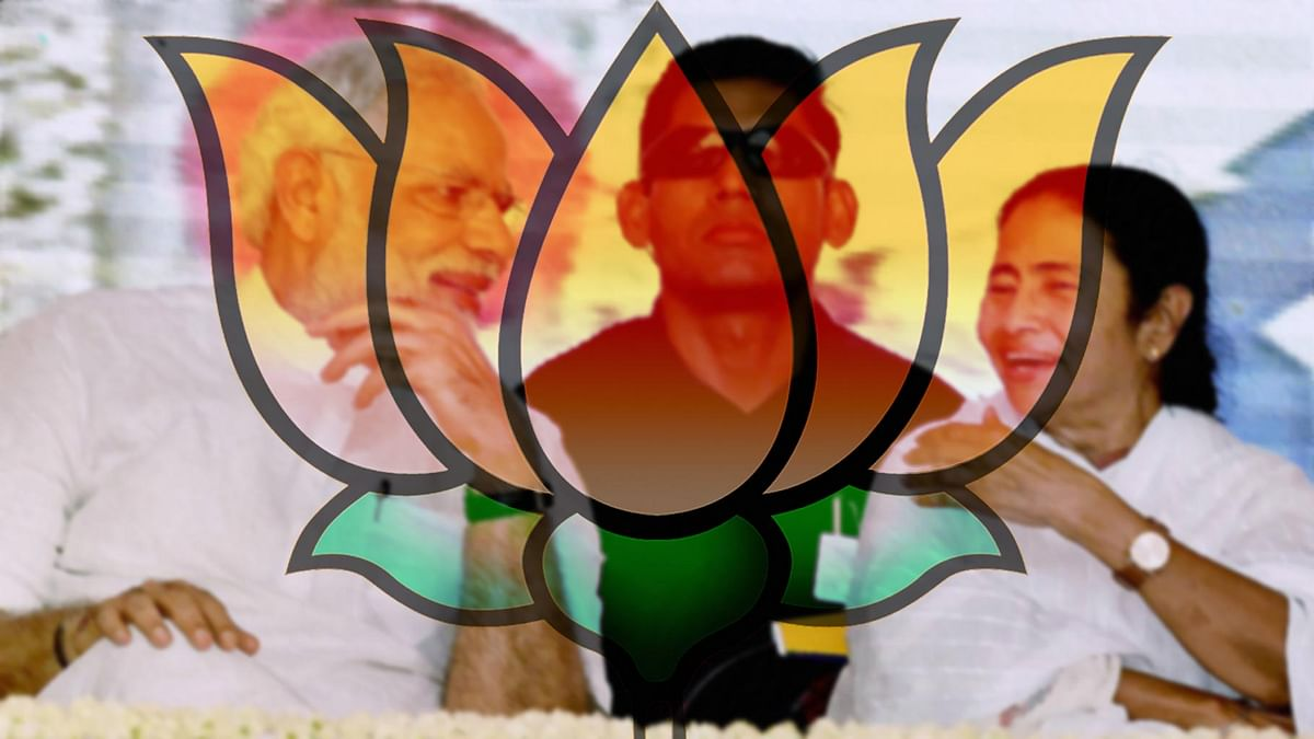 The BJP plans to highlight regional leaders for the upcoming polls in Bengal. (Photo: <b>The Quint</b>)