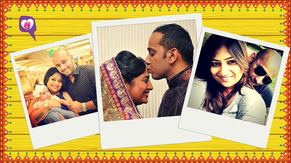 Vaishakhi Mehta and Omar Traynor's love story. (Photo Courtesy: Vaishakhi Mehta)