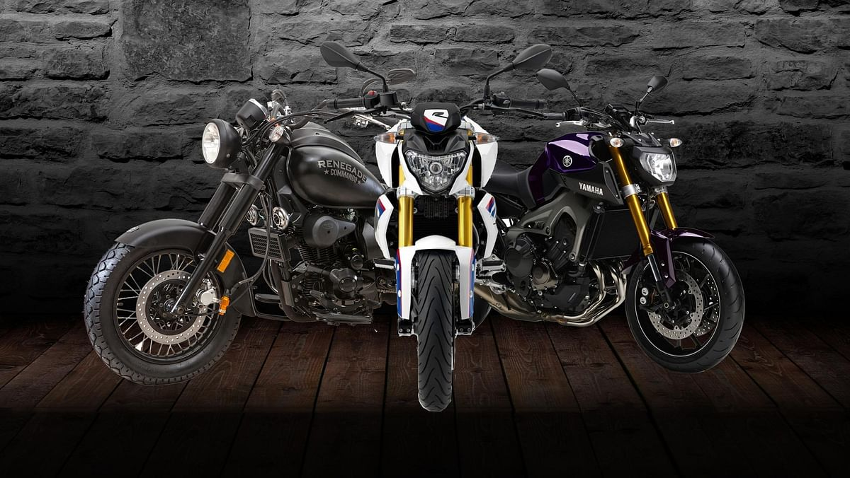The Auto Expo had a lot of interesting bikes, we bring you the best ones. (Photo: <b>The Quint</b>)