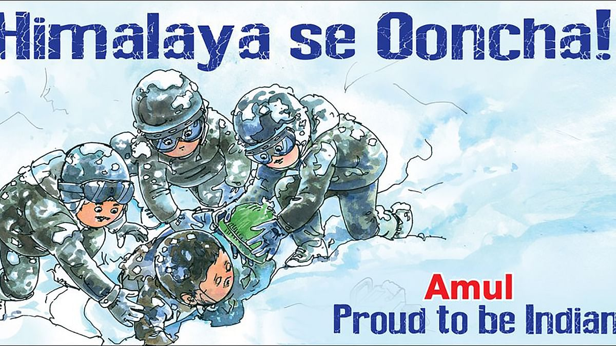 """Amul ad on the Siachen avalanche mishap. (Photo courtesy: <a href=""""https://twitter.com/Amul_Coop/status/697400982787887106"""">Amul's Twitter Feed</a>)"""
