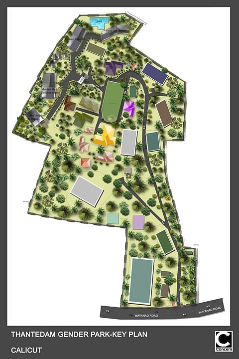 "Key plan for the Gender Park. (Photo Courtesy: <a href=""http://genderpark.gov.in/images/gallery/large/03.jpg"">The Gender Park</a>)"