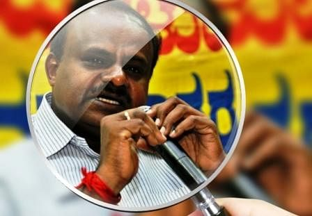 Former Karnataka chief minister and JD(S) head HD Kumaraswamy. (Photo Courtesy: <i>The News Minute</i>)