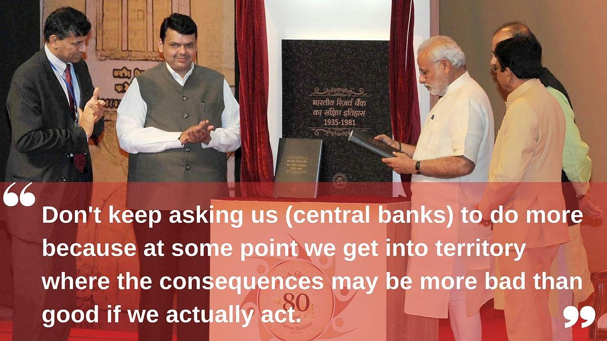 Rajan with PM Modi. (Photo: IANS)