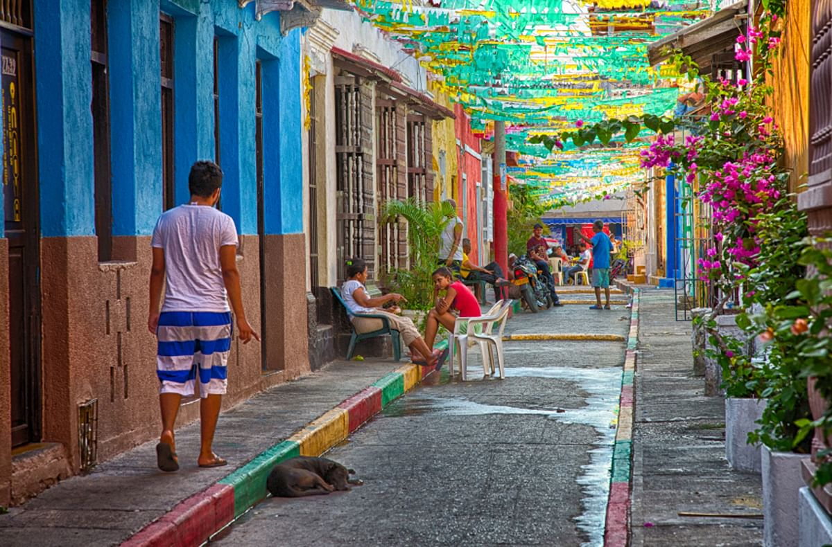 """Tripathi generously uses Marquez to make sense of the """"Colombian reality"""". Pictured above: the city of Cartagena, Colombia. (Photo: iStock)"""