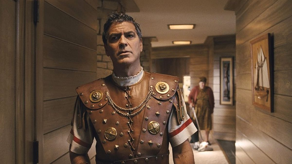 George Clooney in a scene from <i>Hail, Ceasar!</i>